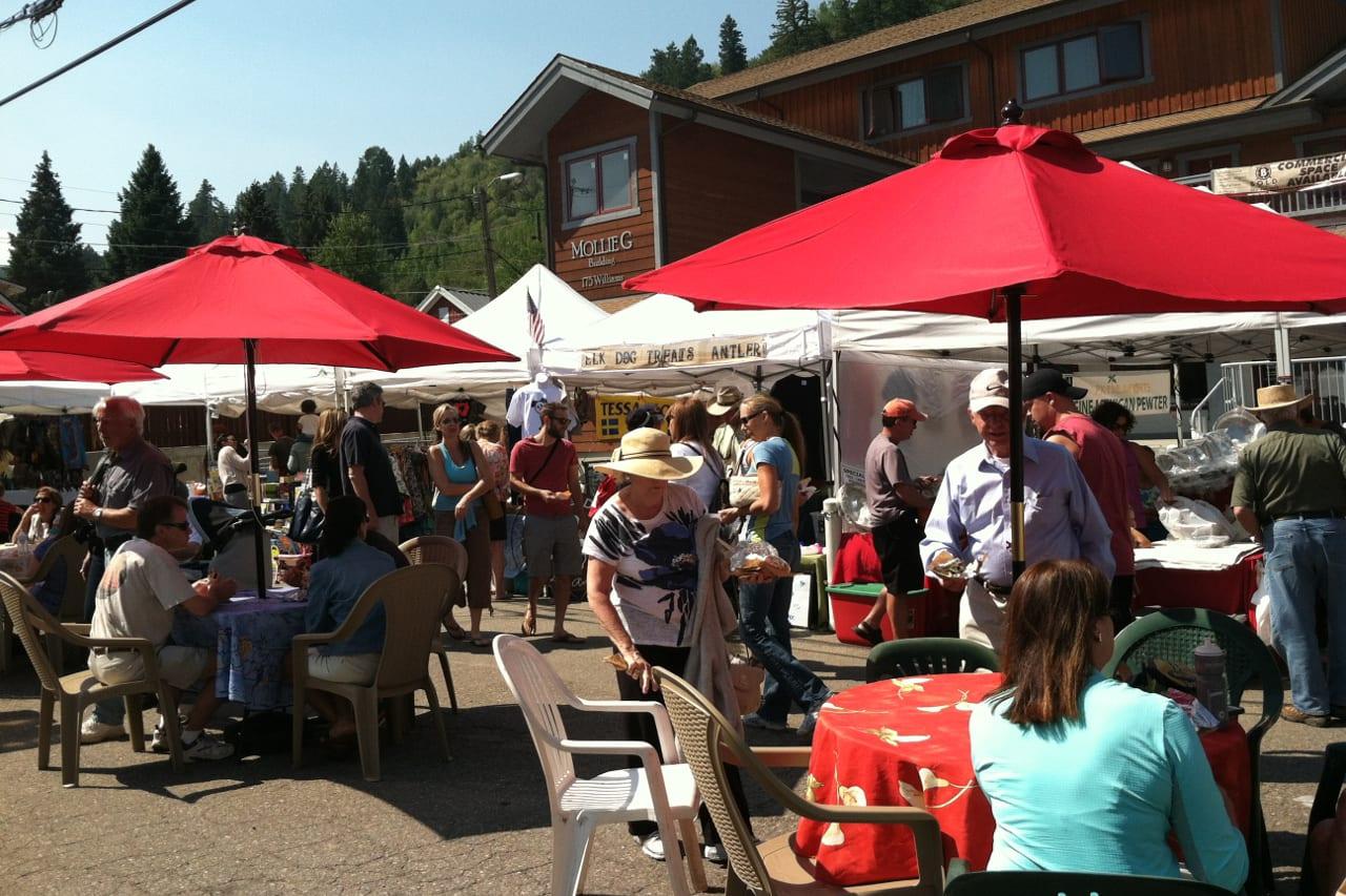 Minturn Summer Market Colorado