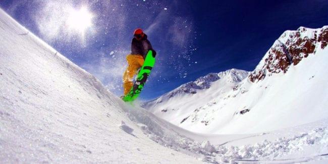 Never Summer Snowboarder