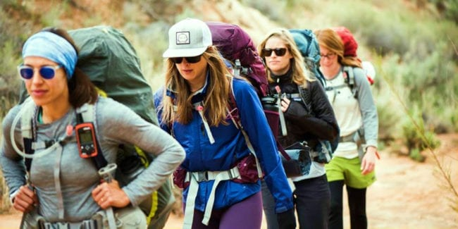 Osprey Packs Women Backpackers Hiking