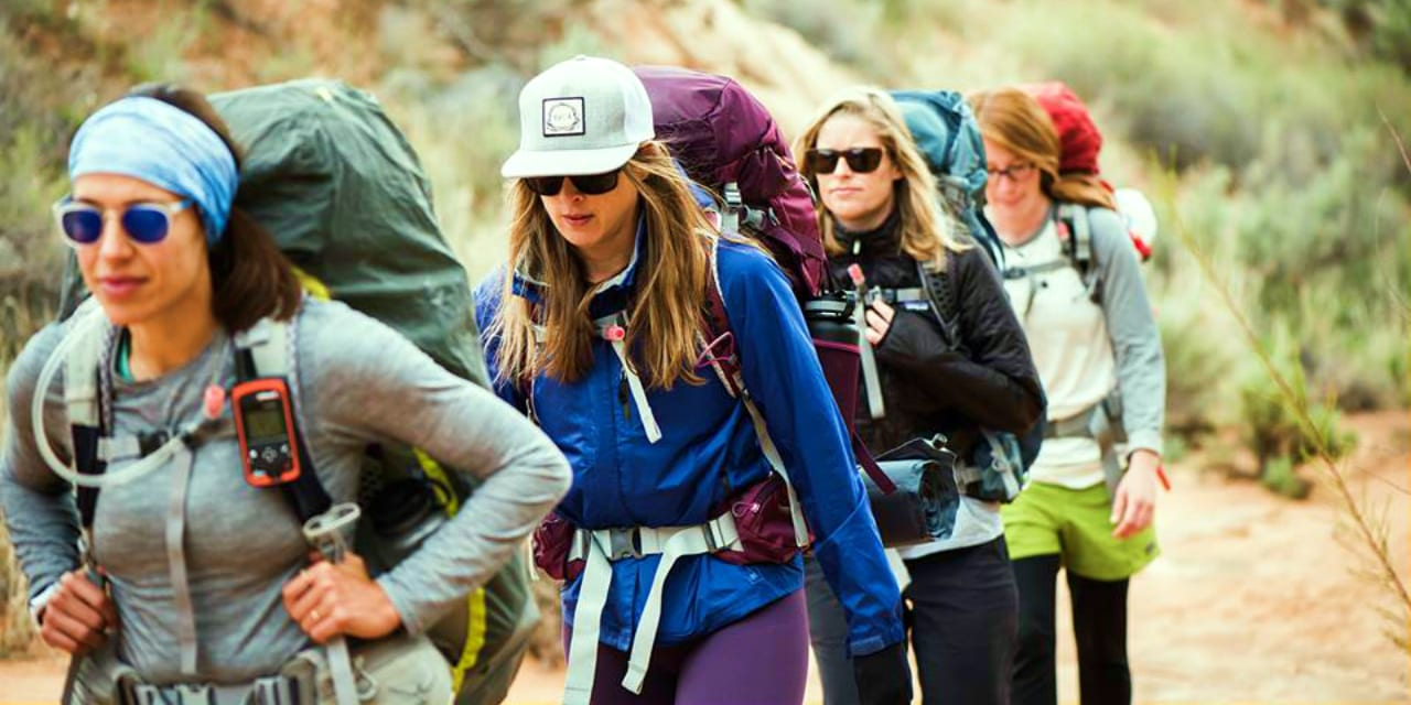 Osprey Packs Women Backpackers Hiking