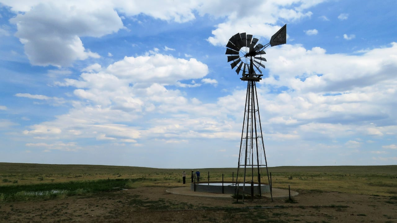 Pawnee Pioneer Trails Byway Colorado Windmill