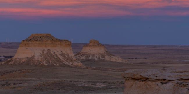 Pawnee Pioneer Trails Colorado Buttes Sunset