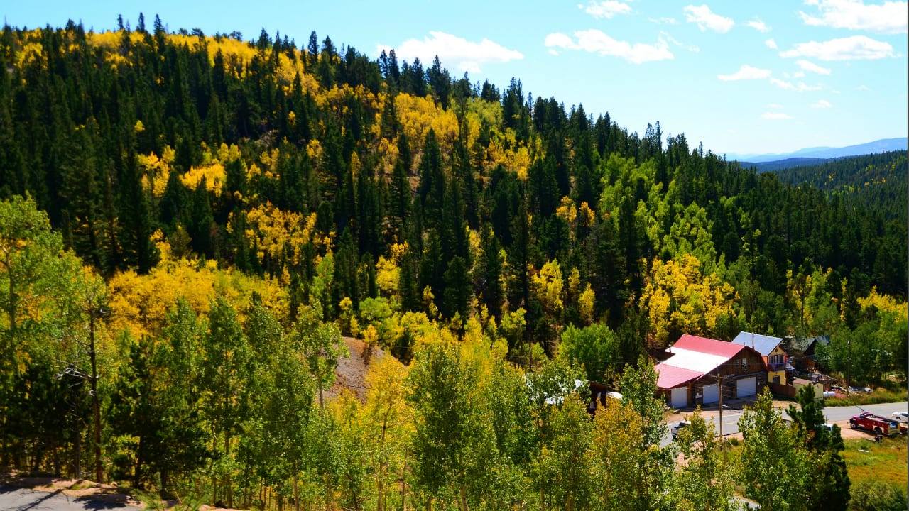 Peak to Peak Scenic Byway Fall Foilage