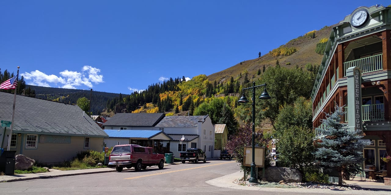 Downtown Red Cliff Colorado