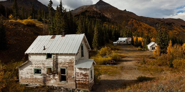 Red Mountain Town Co Ghost Town San Juan County Ghost