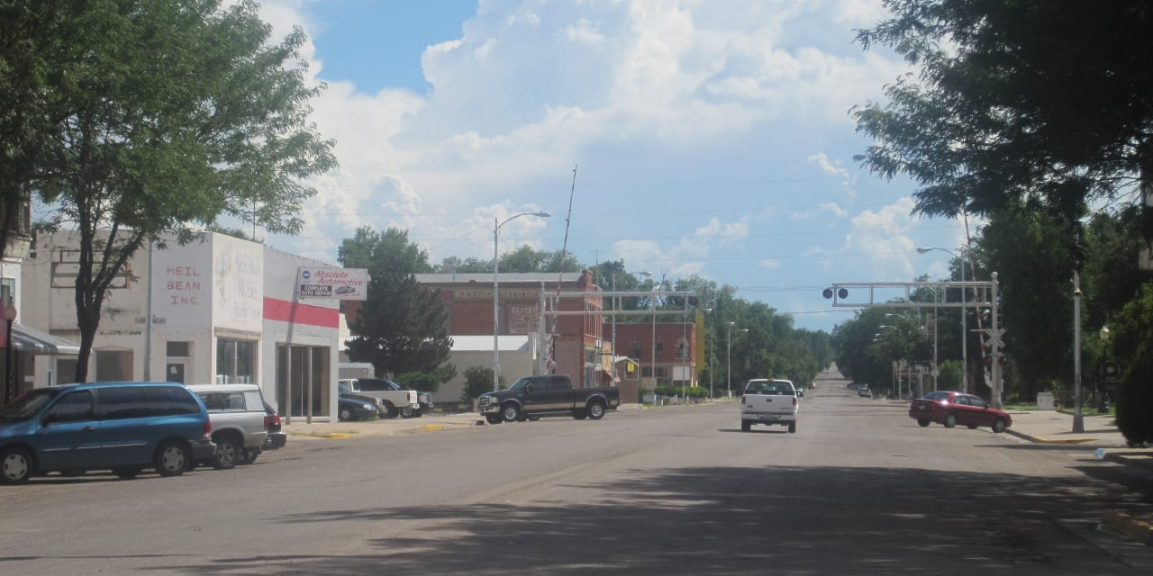 Downtown Rocky Ford Colorado
