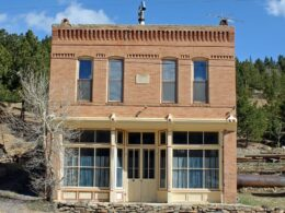 Russell Gulch CO Ghost Town IOOF Hall
