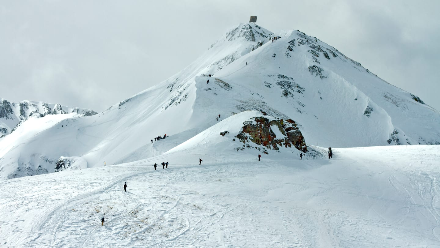 Silverton Mountain Ski Resort Hikers