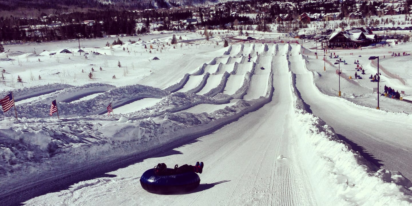 Snow Tubing Frisco Colorado