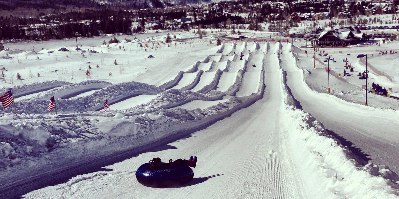 Snow Tubing Frisco Colorado