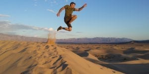 SOM Footwear Shoes Sand Dunes Jump