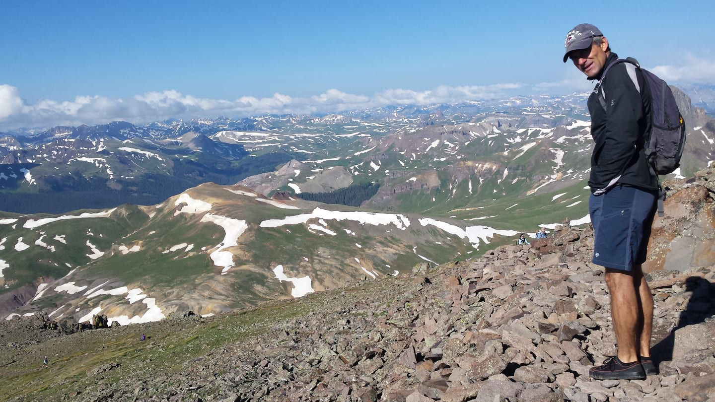 SOM Footwear Hiking Shoe Colorado Mountain