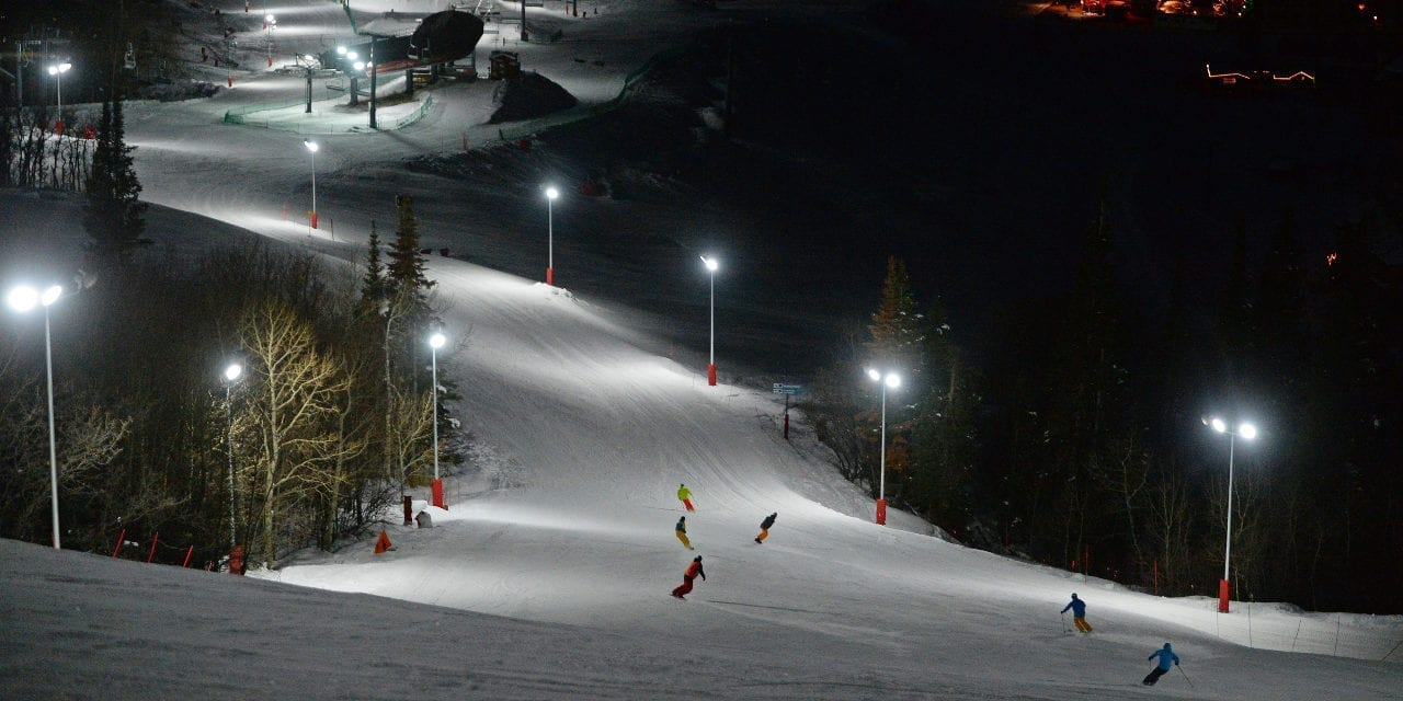Colorado Night Skiing Steamboat Ski Resort