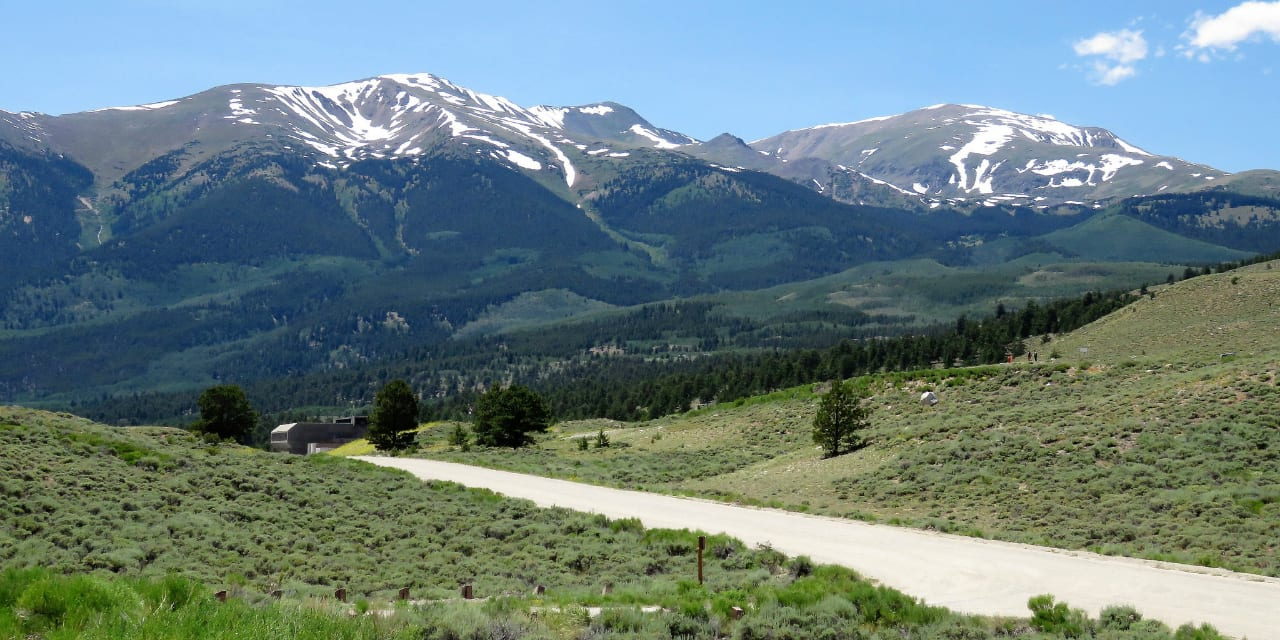 Top of the Rockies National Scenic Byway Colorado