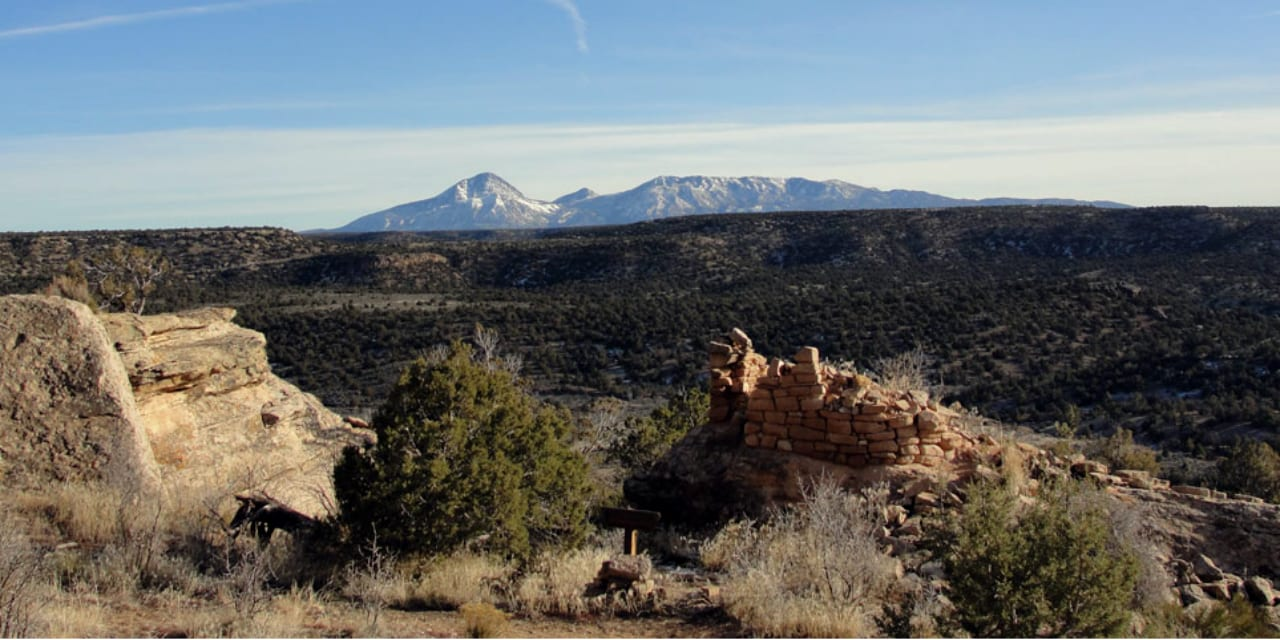 Trail of the Ancients National Scenic Byway Colorado