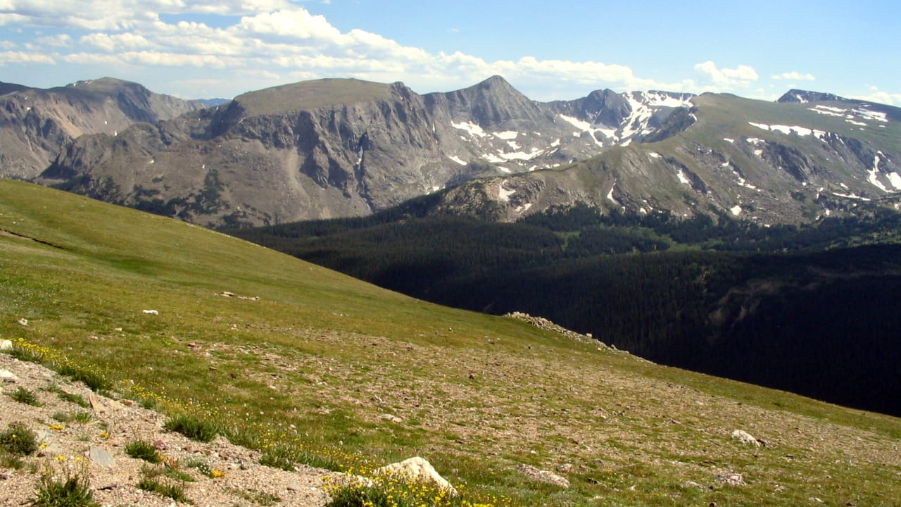 Trail Ridge Road Byway Rocky Mountain National Park