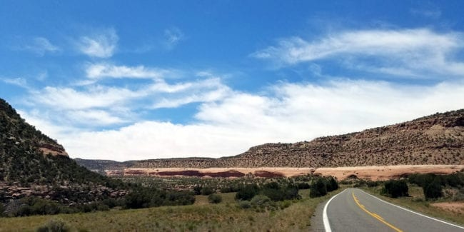 Unaweep Tabeguache National Scenic Byway Colorado