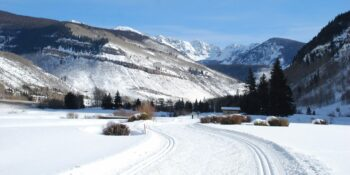 Vail Nordic Center Cross Country Ski Trail