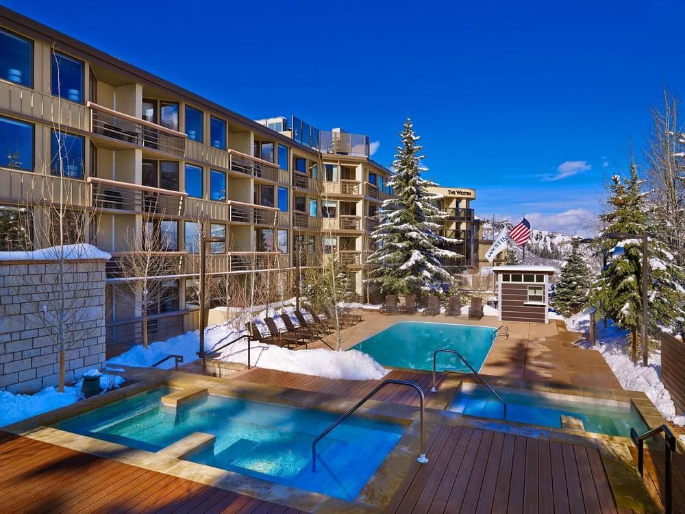 Westin Snowmass Resort Pool Winter
