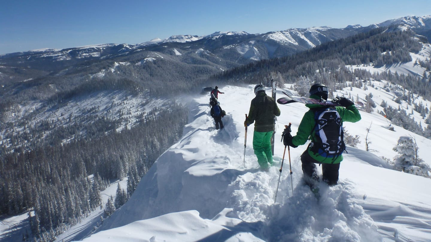 Wolf Creek Ski Area Powder Hiking