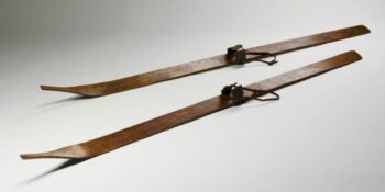 1880s Butter Pat Skis