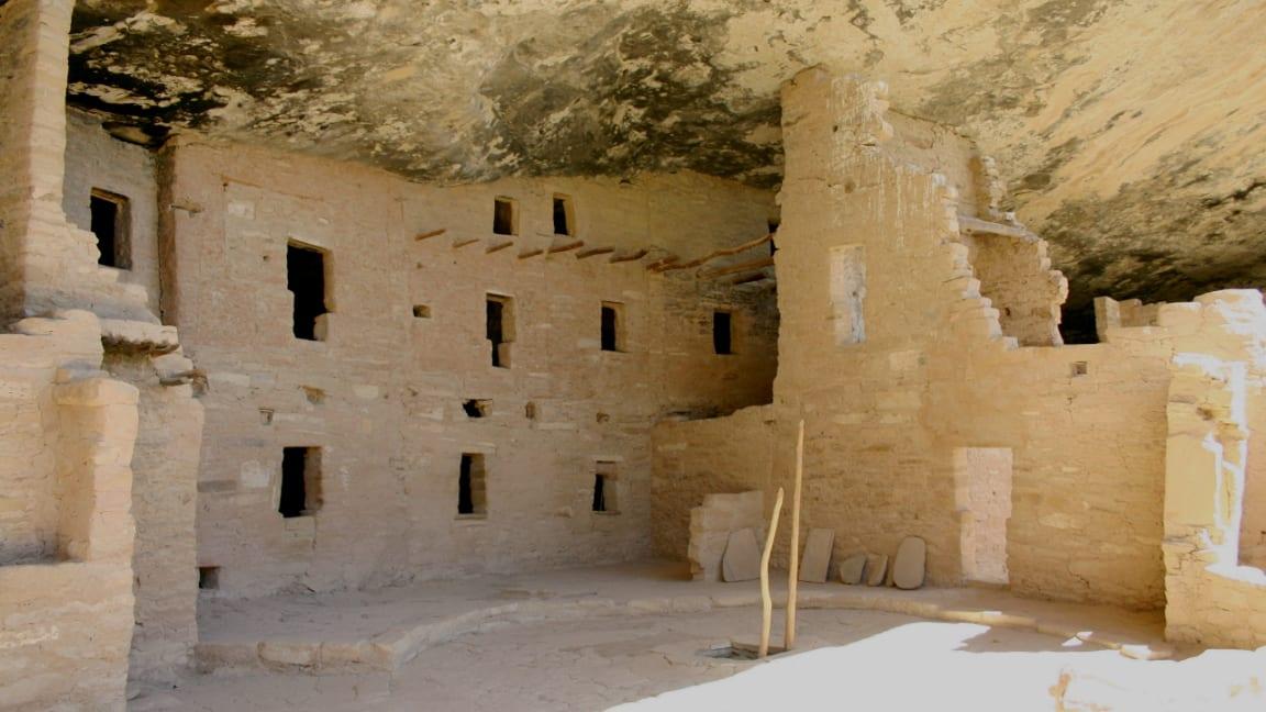 Anasazi Cliff Dwelling Mesa Verde Colorado