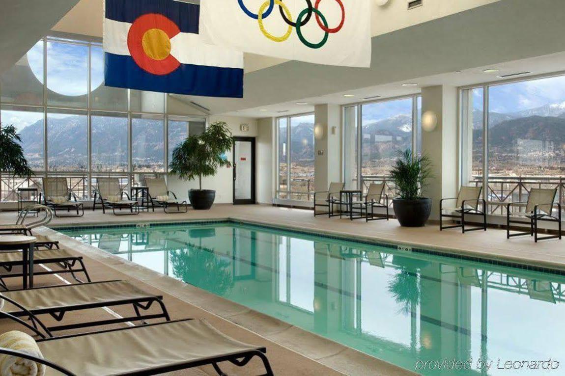 Antler Hotel Swimming Pool Colorado Springs