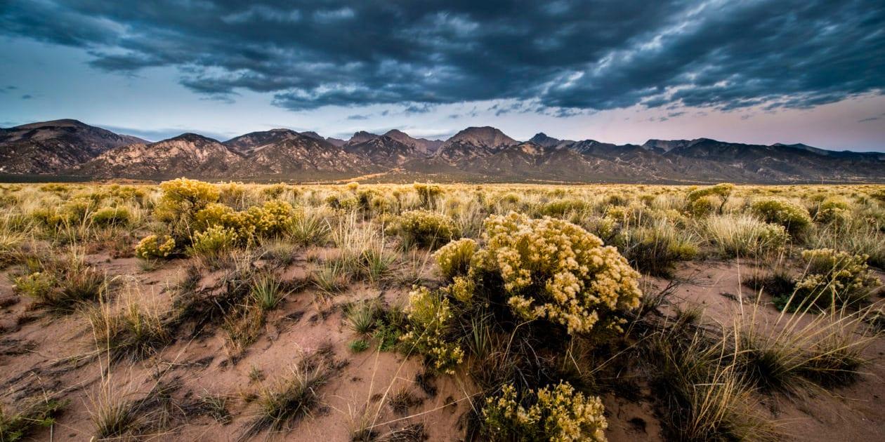 Baca National Wildlife Refuge Sangre De Cristo Mountains Colorado