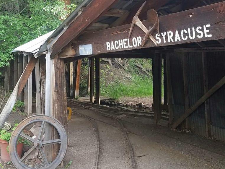 Bachelor Syracuse Mine Entrance Ouray