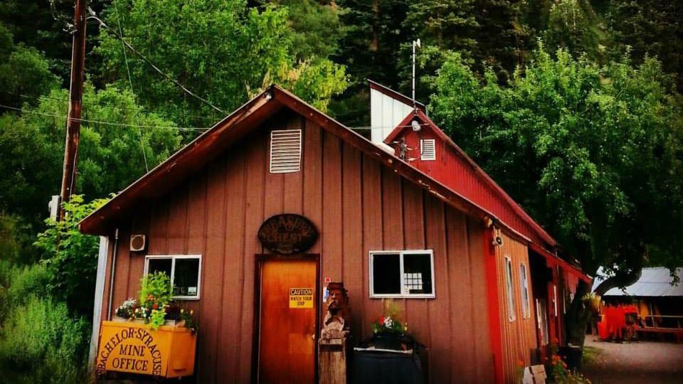 Bachelor Syracuse Mine Tour Office Ouray