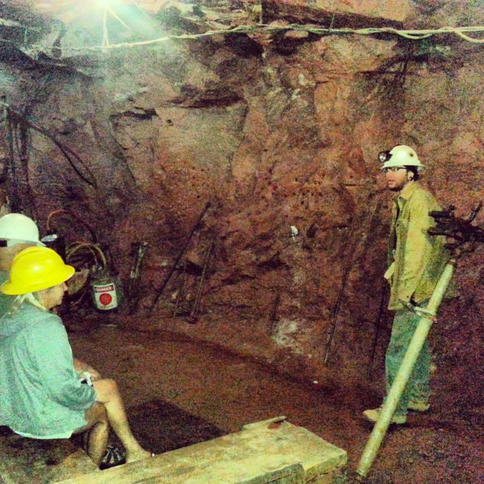 Bachelor Syracuse Mine Tour