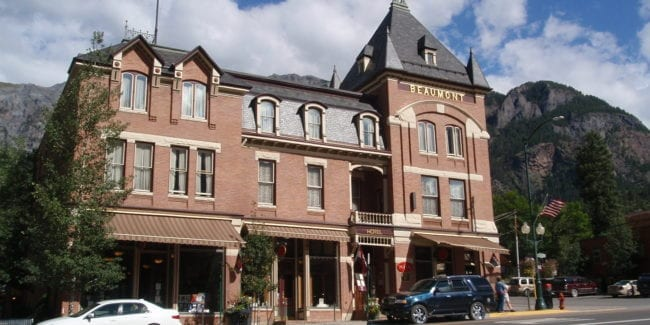 Beaumont Hotel Ouray Colorado