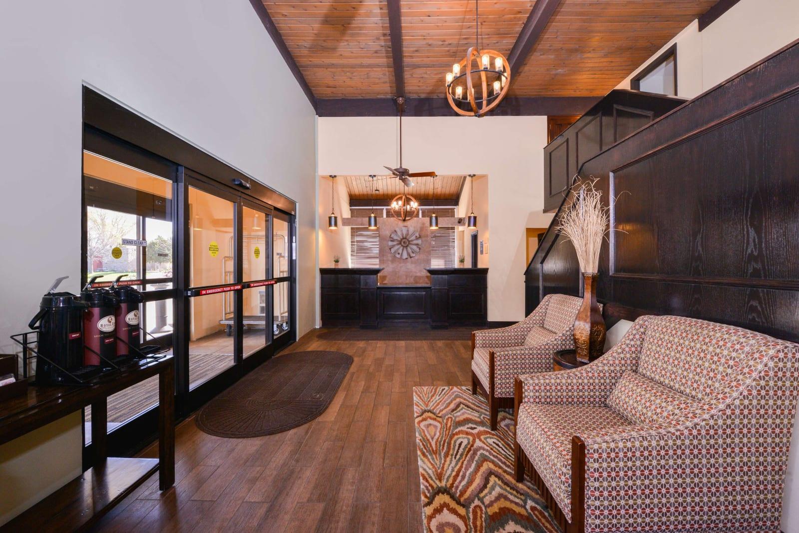 Best Western Sterling Colorado Hotel Lobby