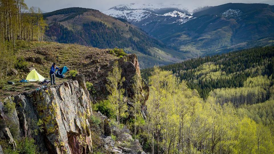 Big Agnes Tent Crested Butte Colorado