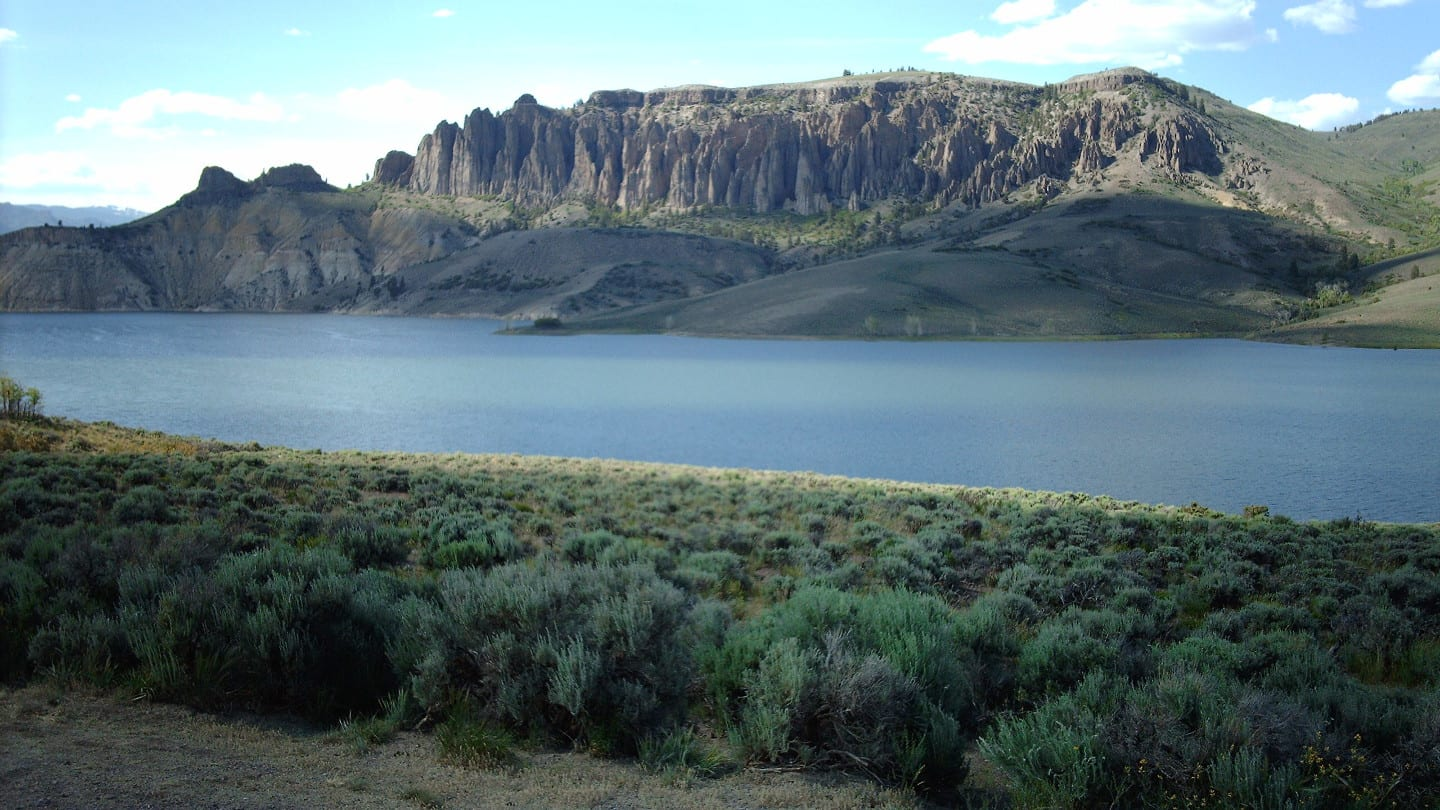 Blue Mesa Reservoir Dillon Pinnacles Colorado