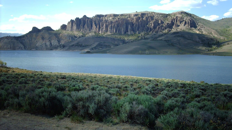 Blue Mesa Reservoir Dillon Pinnacles Colorado