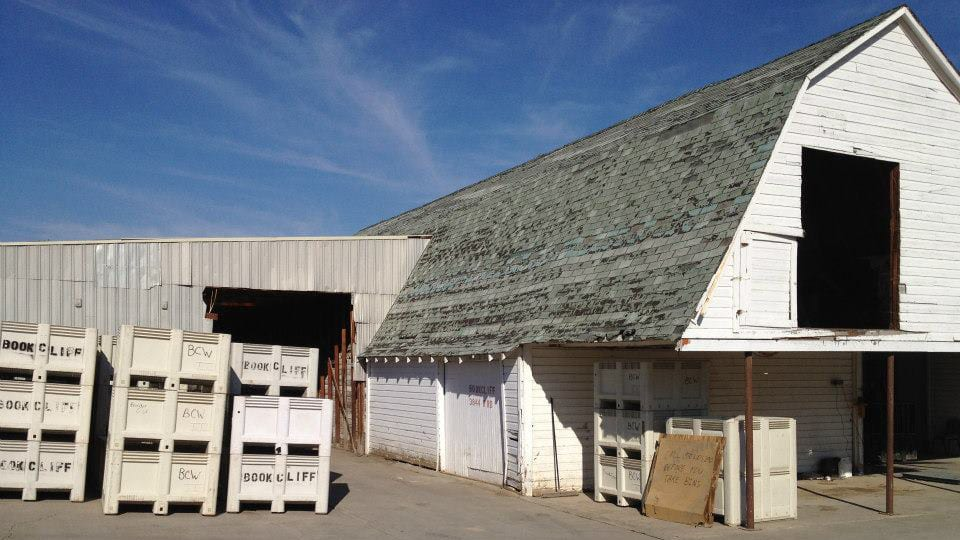 Bookcliff Vineyards Palisade Colorado Barn