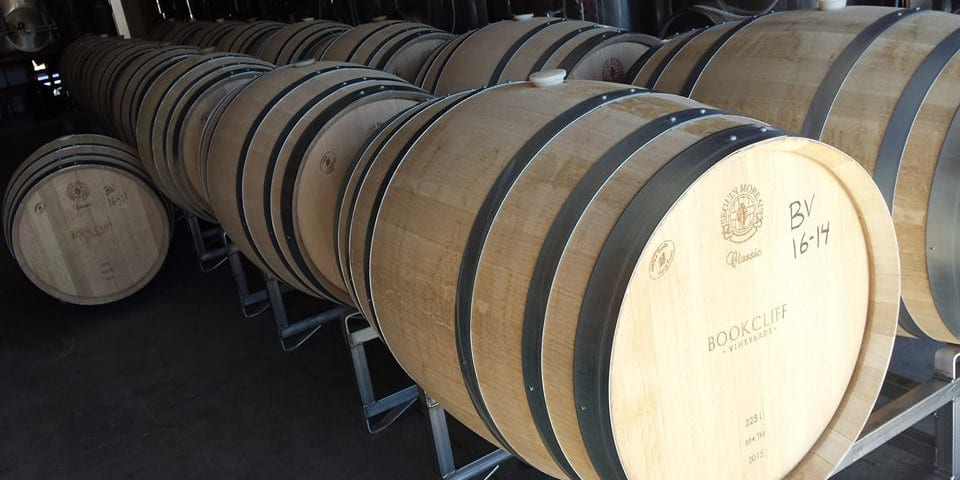 Bookcliff Vineyards Wine Barrels