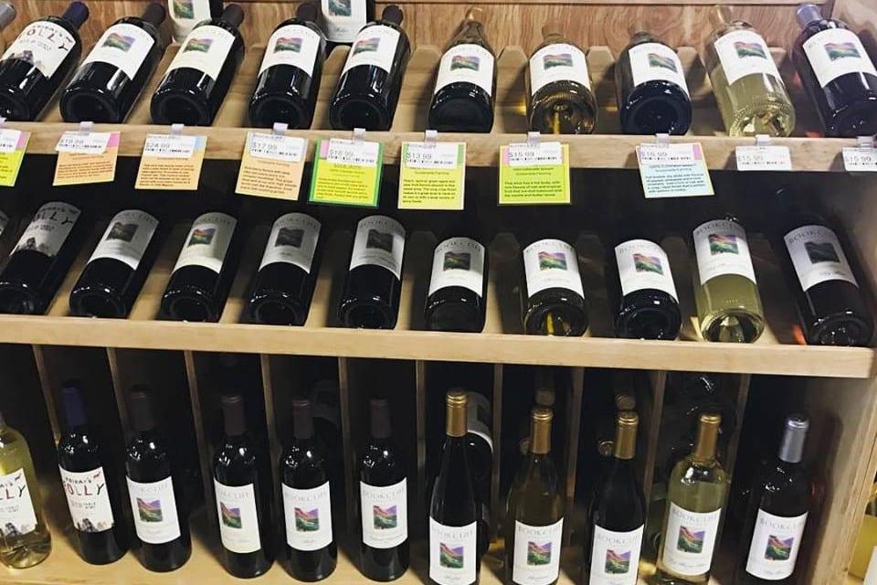 Bookcliff Vineyards Wine Bottles