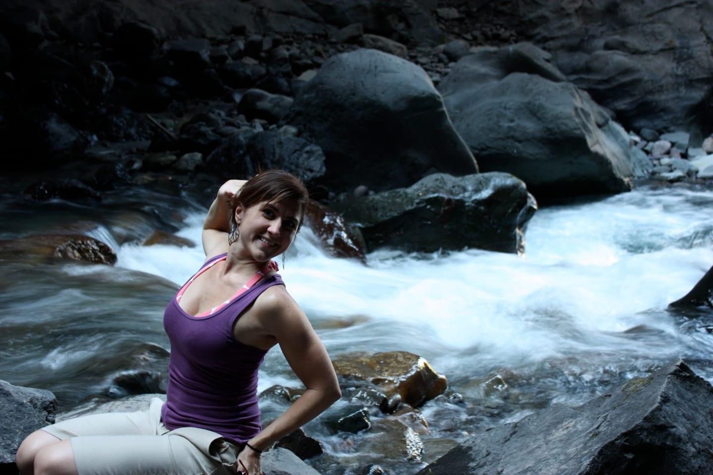 Box Canyon Falls Canyon Creek
