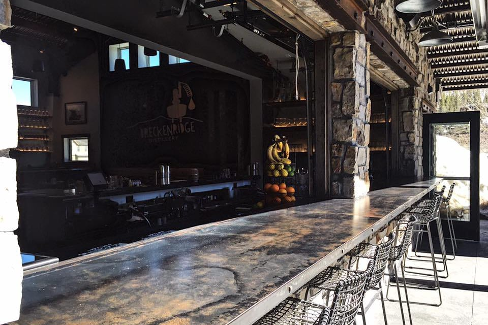 Breckenridge Distillery Downtown Tasting Room Bar