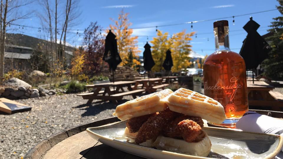 Breckenridge Distillery Patio BBQ