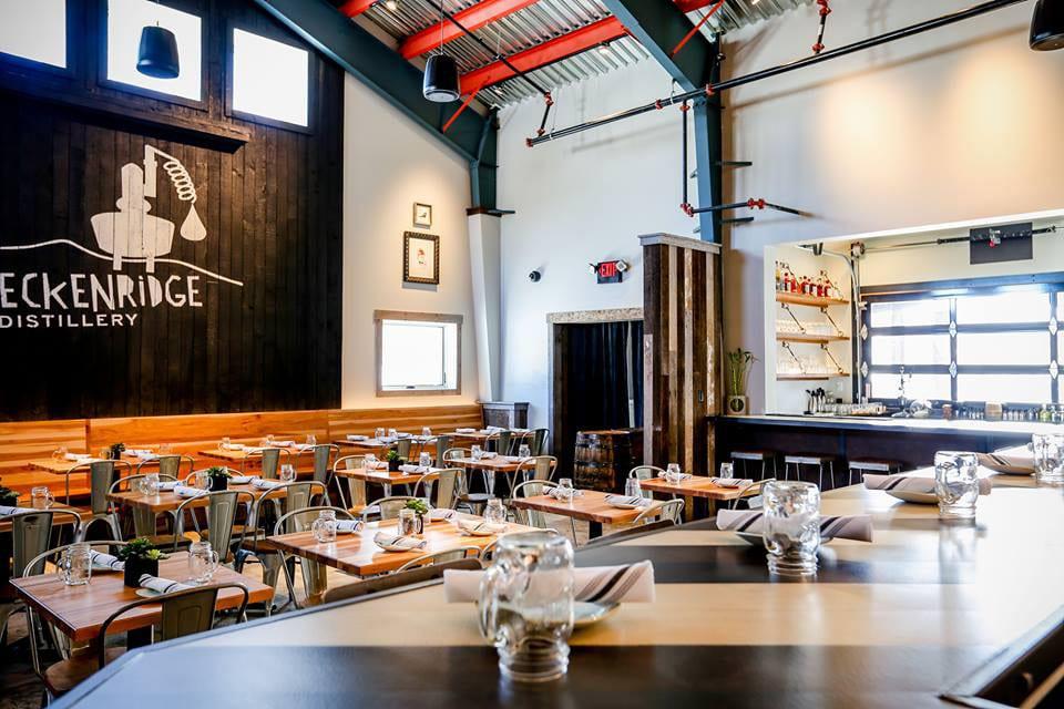 Breckenridge Distillery Restaurant Dining Room
