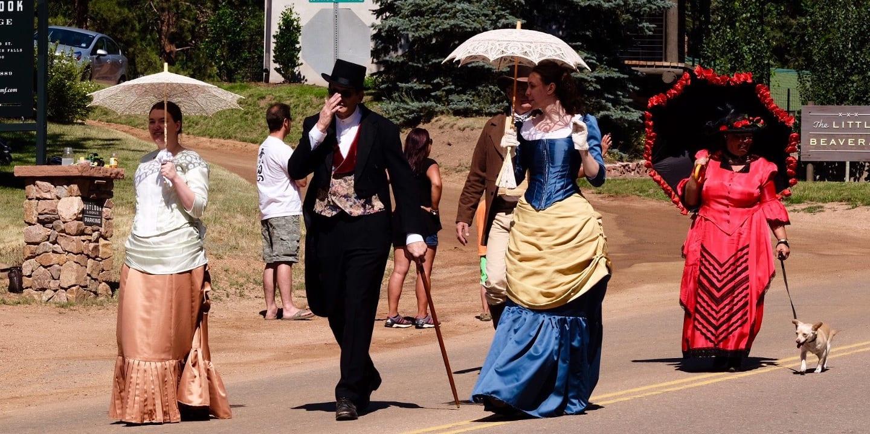 Bronc Day Festival Parade Green Mountain Falls