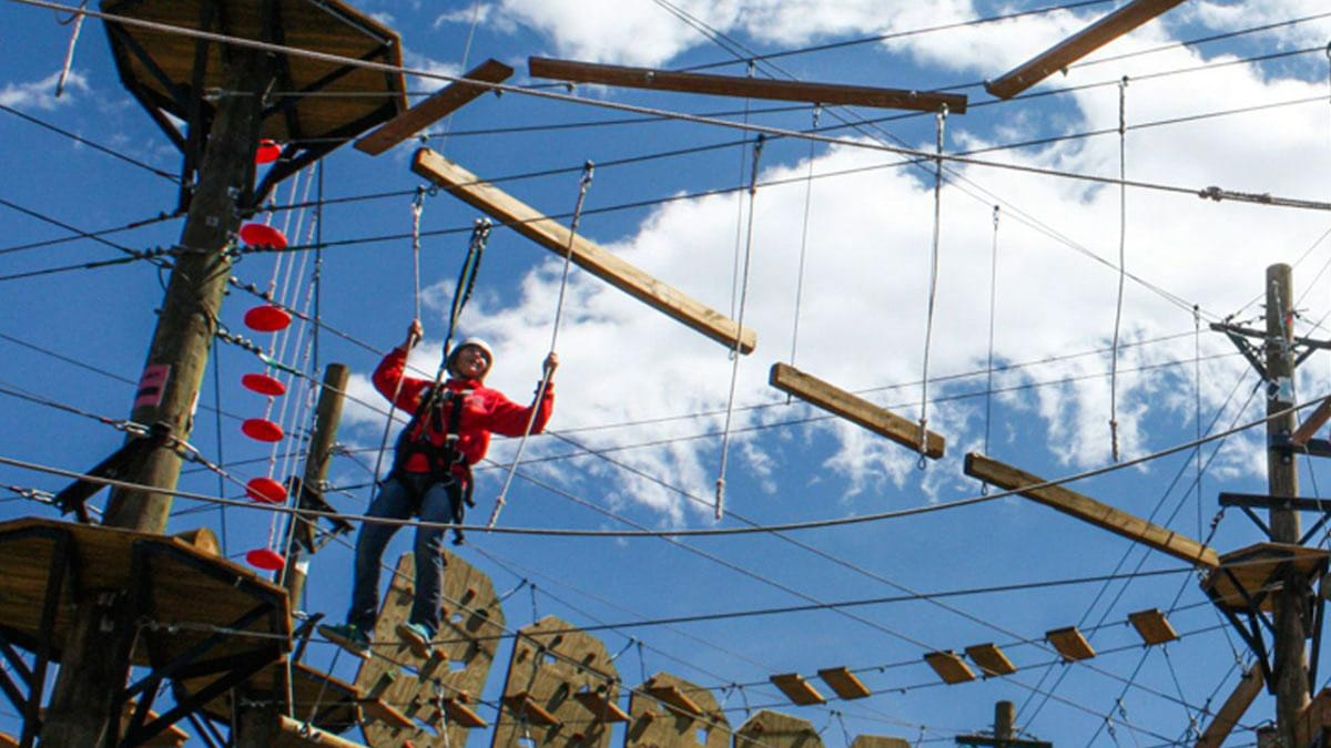 Browns Canyon Adventure Park Buena Vista Rope Cross
