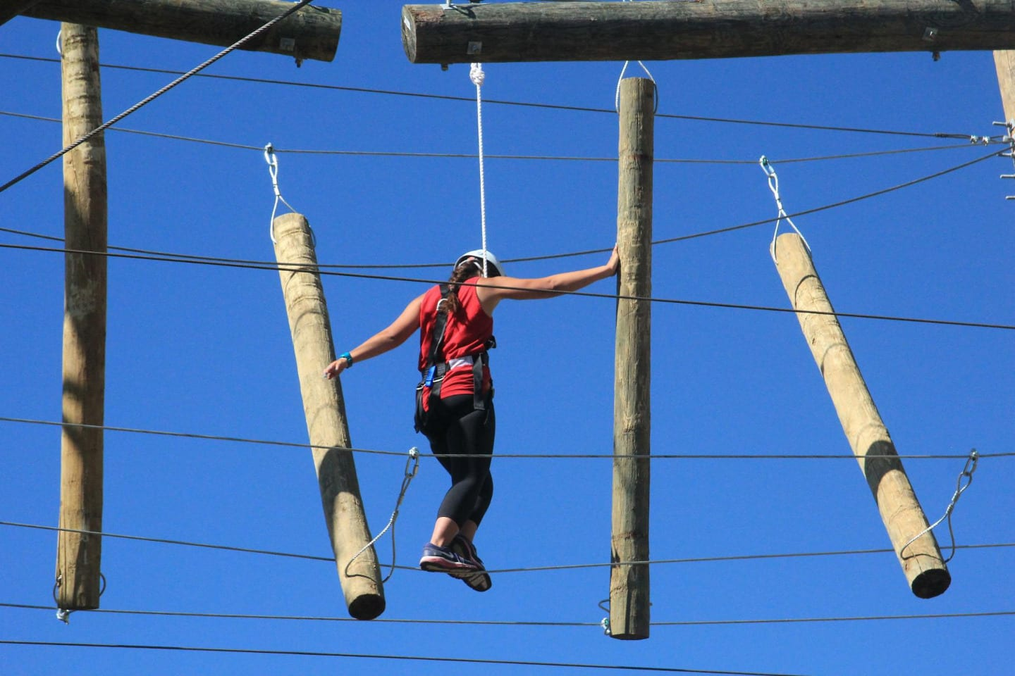 Browns Canyon Adventure Park Rope Cross
