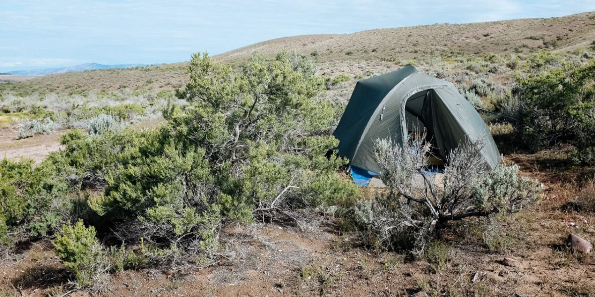 Browns Park National Wildlife Refuge Campground Tent