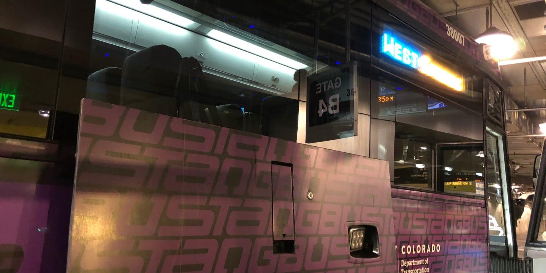 Bustang Express Denver Colorado Bus