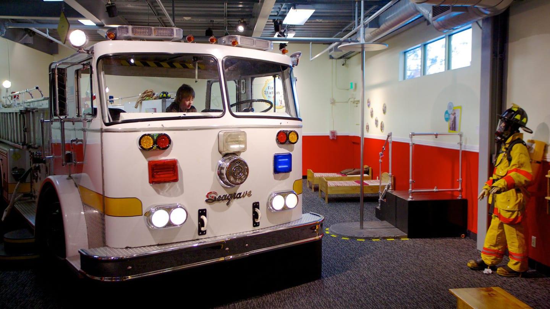 Children's Museum Denver Firetruck