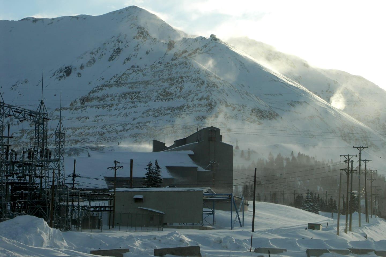 Climax Mine Colorado Winter